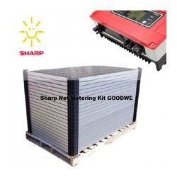 Sharp Enphase Net Metering KIT GOODWE